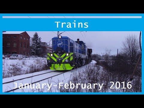 Train videos: January-February 2016