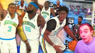 NBA 2K17 My Team INSANE ALL TIME HORNETS TEAM! STACKED WITH DIAMONDS!