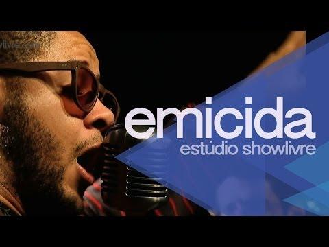 """""""Sol de giz de cera"""" - Emicida no Estúdio Showlivre 2013"""