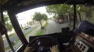 bombero conduciendo en emerencia -  driving fire truck gopro