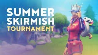 $250,000 OFFICIAL FORTNITE SUMMER SKIRMISH TOURNAMENT - MOST ELIMINATIONS (Fortnite Battle Royale)
