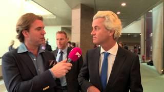 Studio PowNed: Wilders niet boos op Galjaard