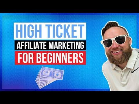 How To Make High Ticket Affiliate Marketing Sales As A Beginner thumbnail