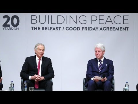 Blair And Clinton Return To Northern Ireland To Mark 20 Years Since