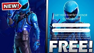 There's ANOTHER FREE Method To Get The HONOR GUARD Skin In Fortnite..