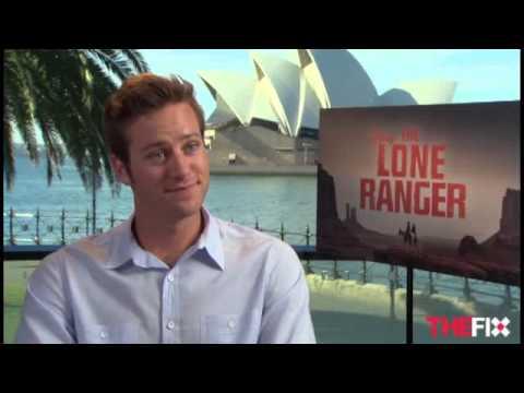 The Lone Ranger's Armie Hammer talks  boxer briefs
