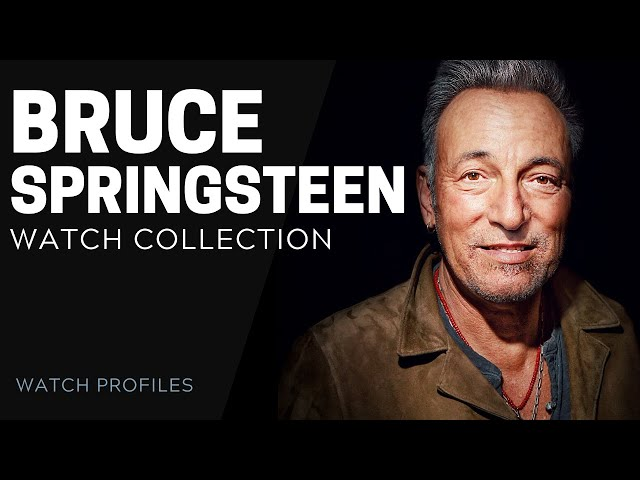 Bruce Springsteen Watch Collection | SwissWatchExpo