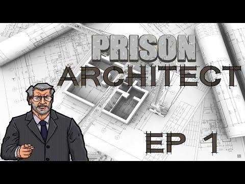Prison Architect Первые шаги, планирование тюрьмы #1