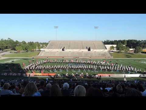 North Shore Senior High School Marching Band - GPISD Marching Festival 2015