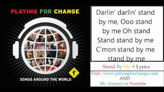Stand By Me - Playing For Change Lyrics