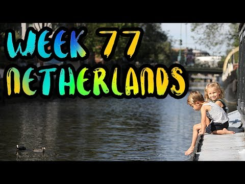 We Live on a Houseboat in the Canals of Amsterdam!! /// WEEK 77 : Netherlands