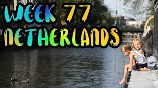 Video We Live on a Houseboat in the Canals of Amsterdam!! /// WEEK 77 : Netherlands download MP3, 3GP, MP4, WEBM, AVI, FLV Juli 2017