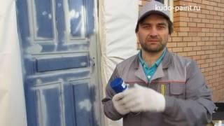 видео Покраска деревянных дверей в домашних условиях — инструкция
