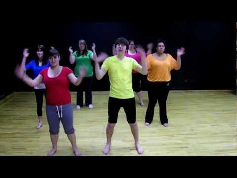 Kids Dance -- Big Fish Little Fish Cardboard Box Choreography