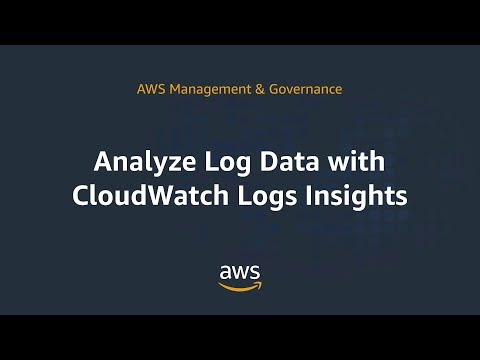Analyze Log Data with CloudWatch Logs Insights