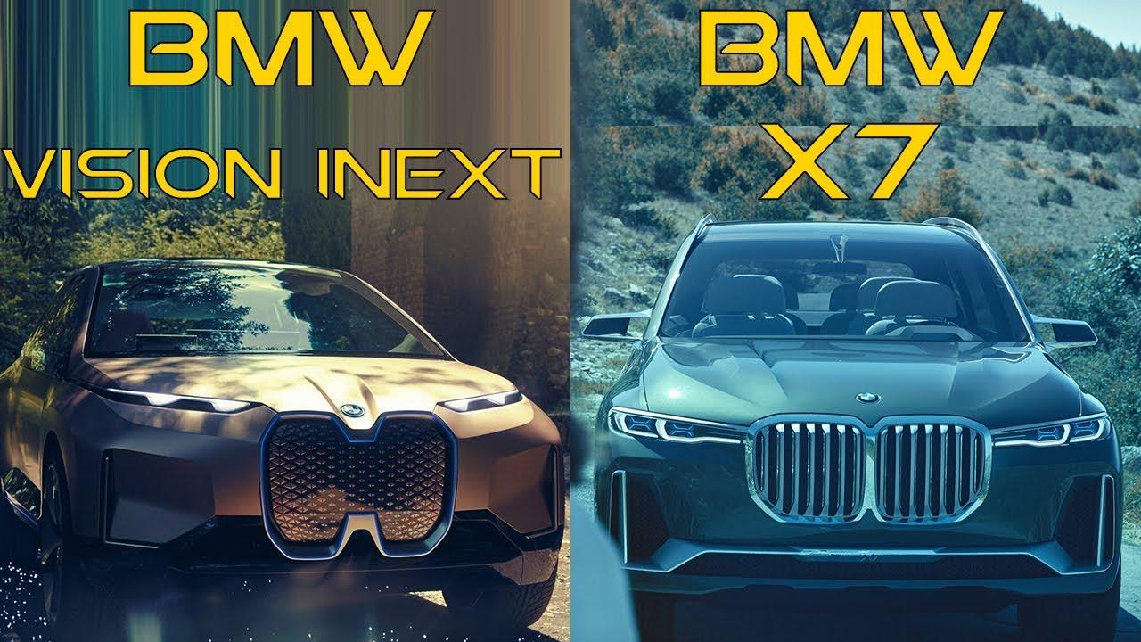 2019 BMW Vision iNext vs 2018 BMW X7 - YouTube