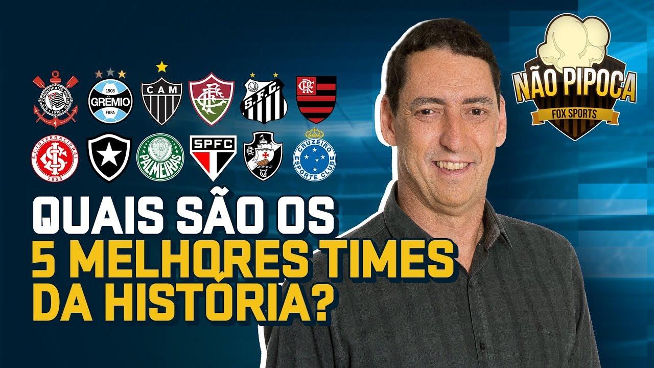 PVC e o top 5 do futebol do Brasileiro - 'Não Pipoca FOX Sports' #1