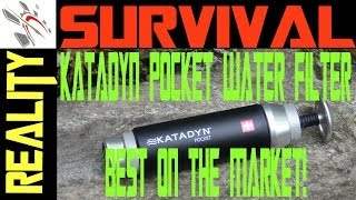 The Best Water Filter. Period! Katadyn Pocket Ceramic Water Filter