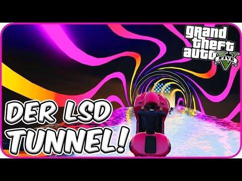 DER LSD TUNNEL! 💊 - GTA 5: Online [PC]
