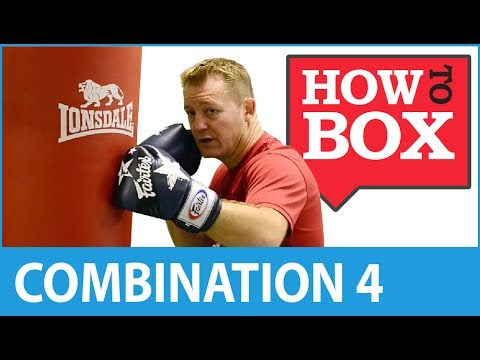Punch Bag Combination 4 - Learn Boxing