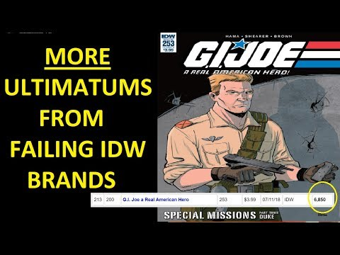 G.I.Joe's Larry Hama Speaks To Comicsgate, And The Only Things Dropping Are IDW Stock  And Sales