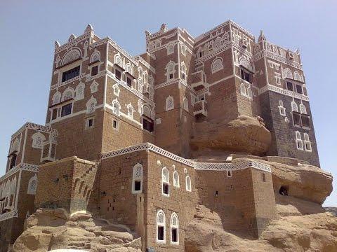 ☝ Unusual places to stay in the village of Al-Hajar, Yemen ☝ И тут живут люди Аль-Хаджара, Йемен