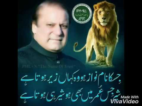 Sher marna pmln song