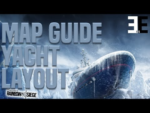 Improve On Rainbow Six Siege | Map Guide & Tips | Yacht | Layout