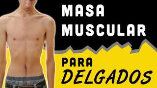 Masa Muscular para Delgados thumbnail