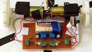 Line Following Robot using Transistors