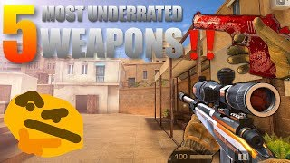 StandOff 2 Top 5 Most Underrated Weapons‼️