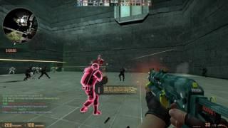 Counter-Strike Global Offensive: Zombie Escape - ze_Santassination_v3 (Act III) on GFL