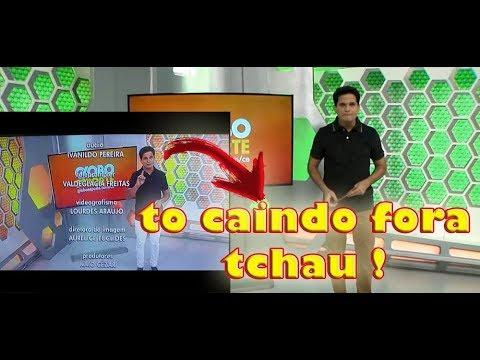 Apresentador Do Globo Esporte Do Ceará Pede Demissão Ao Vivo Veja O Momento