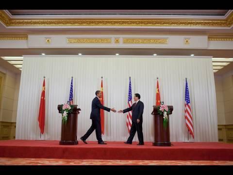 President Obama, Chinese President Hu Meet in Beijing