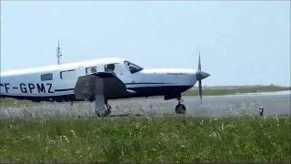 [La Rochelle - Île de Ré airport] Take off | Piper PA-32 | with ATC