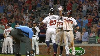 6/19/17: Dickey, offense leads Braves past Giants