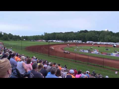 Bloomington Speedway   5.26.17   Non Wing Sprints   Josh Burton Memorial   Heat 1