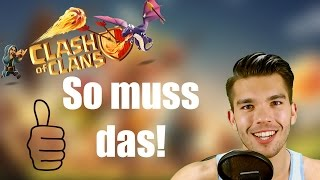 CLASH OF CLANS Deutsch: So muss das! ✭ Let's Play Clash of Clans