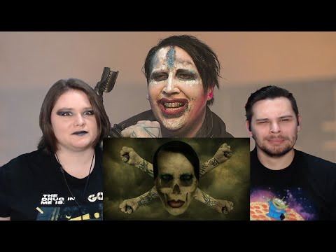 Marilyn Manson - WE ARE CHAOS (REACTION!!) // COUPLE REACTS