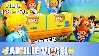 Playmobil Filme Familie Vogel: Folge 1261-1270 | Kinderserie | Videosammlung Compilation Deutsch