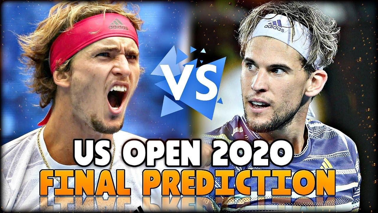 Dominic Thiem vs Alexander Zverev - US Open 2020: Final Prediction