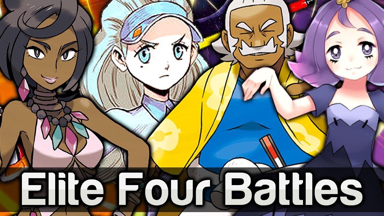 elite four battles pokémon sun and moon the pokemon hub