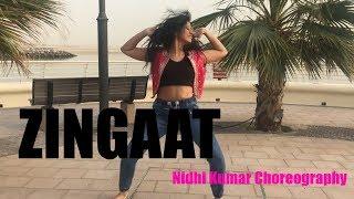 Zingaat | Dhadak & Sairat | Bollywood Dance | Nidhi Kumar Choreography