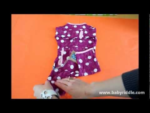 Folding and Storing Baby Clothes