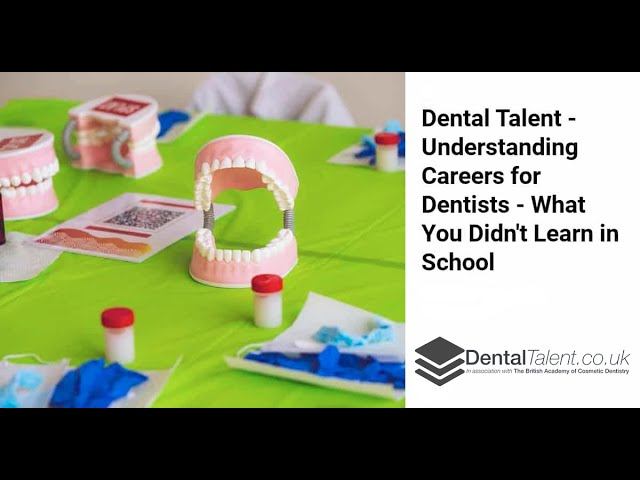 Understanding Careers For Dentists 👉 Reasons To Be A Dentist New Video