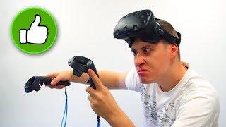 Вся ПРАВДА про віртуальної РЕАЛЬНОСТІ! VR шолом HTC Vive