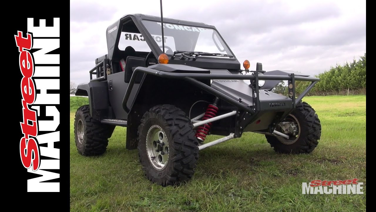 Street Machine Goes Offroad With Tomcar Youtube