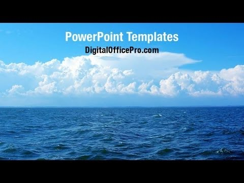 Blue sea powerpoint template backgrounds digitalofficepro blue sea powerpoint template backgrounds digitalofficepro 06725w toneelgroepblik Image collections