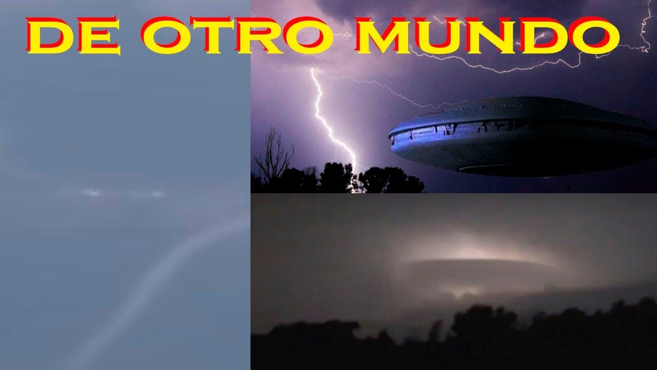 La invasion OVNI dentro de la tormenta