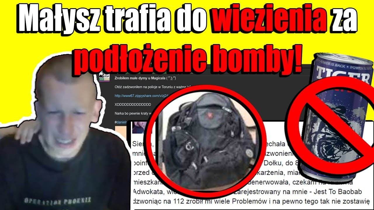 Więzienie za Podłożenie Bomby u DanielaMagicala! BOJKOT Tigera i Nowa Gra Valve
